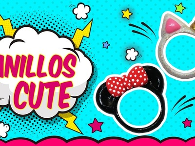 ♥ Tutorial: Anillos DIY de Mickey.Minnie Mouse y Unicornio CUTE ♥