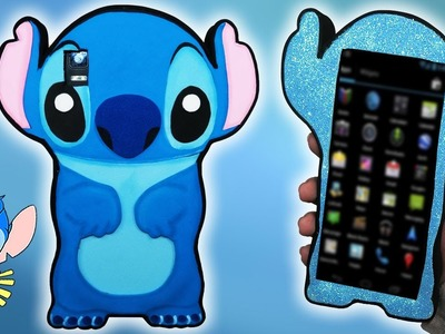 ♥ Tutorial: Funda DIY de Stitch || Stitch Mobile Case ♥