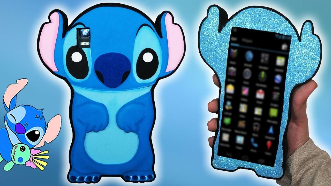 ♥ Tutorial: Funda DIY de Stitch || Stitch Mobile Case ♥