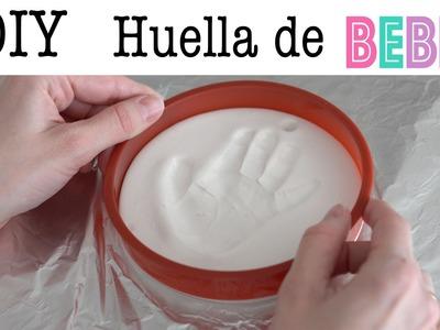 DIY: Huella de bebé | Manualidades