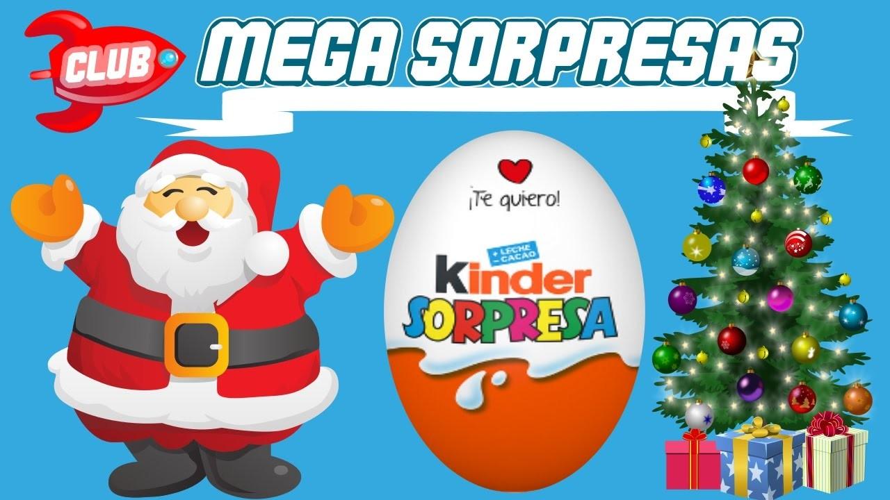 Tren kinder sorpresa de navidad 2016 club mega sorpresas - Sorpresas para navidad ...