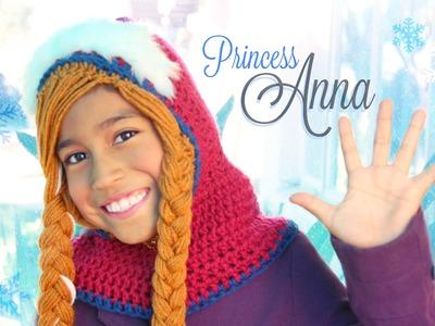 Anna de Frozen CAPUCHA | Tejiendo Con Erica♡