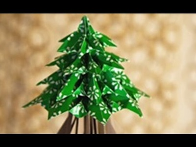 Arbolito de Navidad con LUCES LED. Como hacer manualidad de Arbol de Navidad
