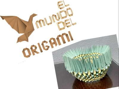 Base Cisne Origami 3D 256 Modulos || Origami Modular