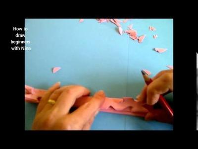 Como hacer copo de nieve de papel en 3D. Como fazer papel floco de neve