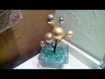 Haz un bonito adorno con Esferas Navideñas