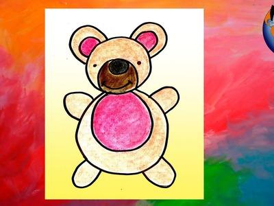 Osito simpatico tutorial Dibujos fáciles para niños