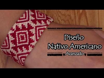 Pulsera de Hilo: Diseño Nativo Americano