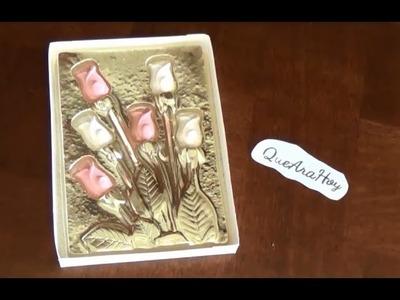 Rosas de Chocolate.