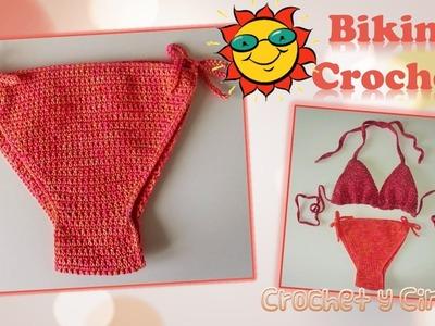 Bikini – vestido de baño a crochet (ganchillo)