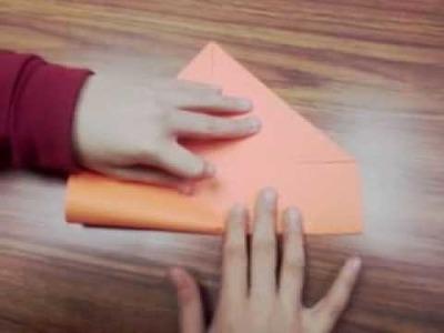 Corona de origami modular