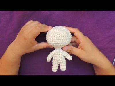 Muñeca Chibi Base - crochet Parte 1