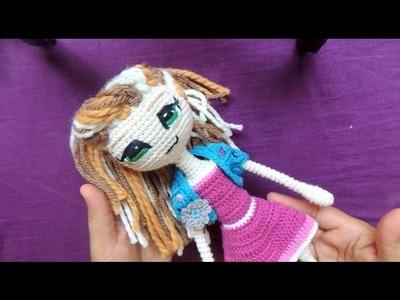 Ropa Muñeca Articulable - Tejido Crochet #2
