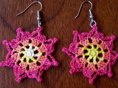 Aros Tejidos a Crochet Parte 2 de 2