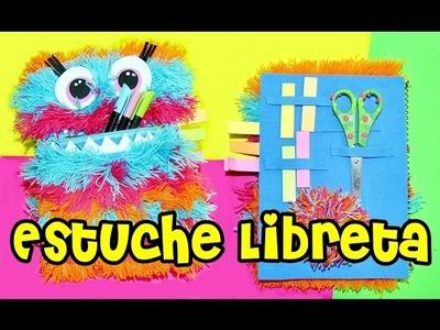 DIY Libreta Estuche ★  MANUALIDADES Faciles y Originales para la ESCUELA.