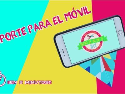 DIY - Soporte Casero para el Móvil ¡en 5 minutos!