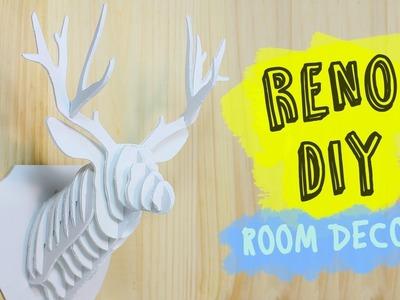 Manualidades fáciles para Decorar | Reno DIY Room Decor