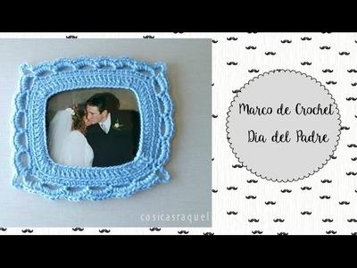 Marco de Crochet Para el Día del Padre