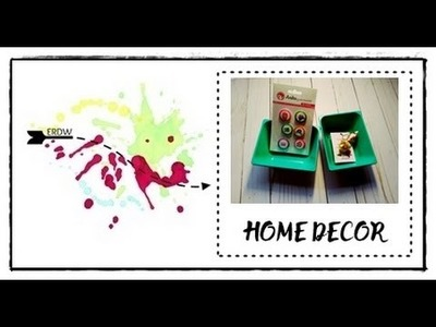 MINI HOME DECOR || DIY || MANUALIDADES FACILES