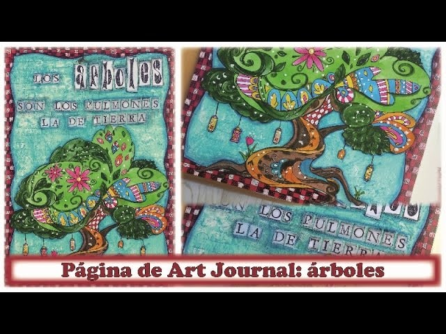 Art Journal: colaboración con La tienda de las manualidades