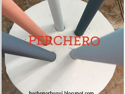 Como hacer un perchero de escayola  DIY