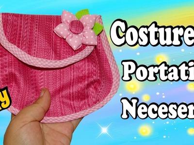 Costurero Portatil - Neceser bolsito para la Cartera muy Facil DIY (Moldes Gratis)
