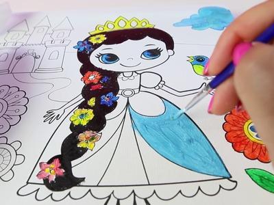 Dibujos para Pintar y Colorear ????  Kit de actividades para ninños|Coloring for Kids|Mundo de Juguetes