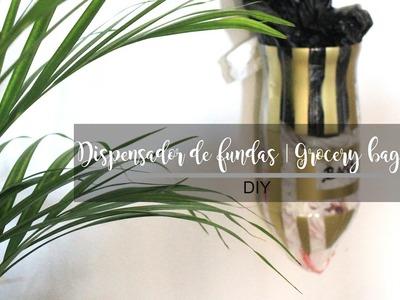 DISPENSADOR DE FUNDAS | GROCERY BAG HOLDER | DIY - ALISHA