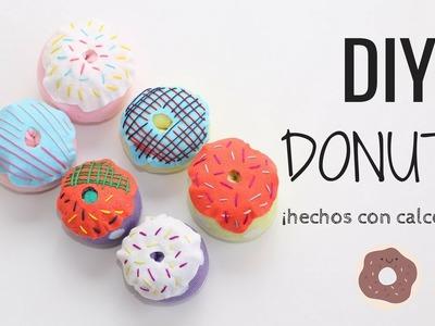 DIY DONUTS hechos de calcetines! 1001 USOS posibles!