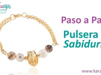 DIY Fácil - Pulsera de Sabiduría - Karatips