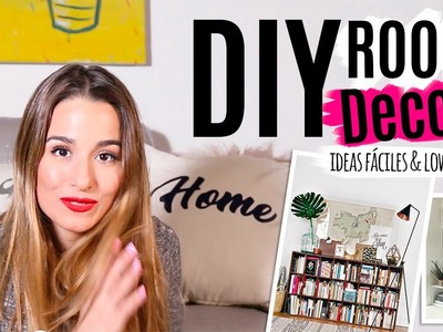 3 ideas fáciles para decorar | DIY Tumblr ROOM DECOR