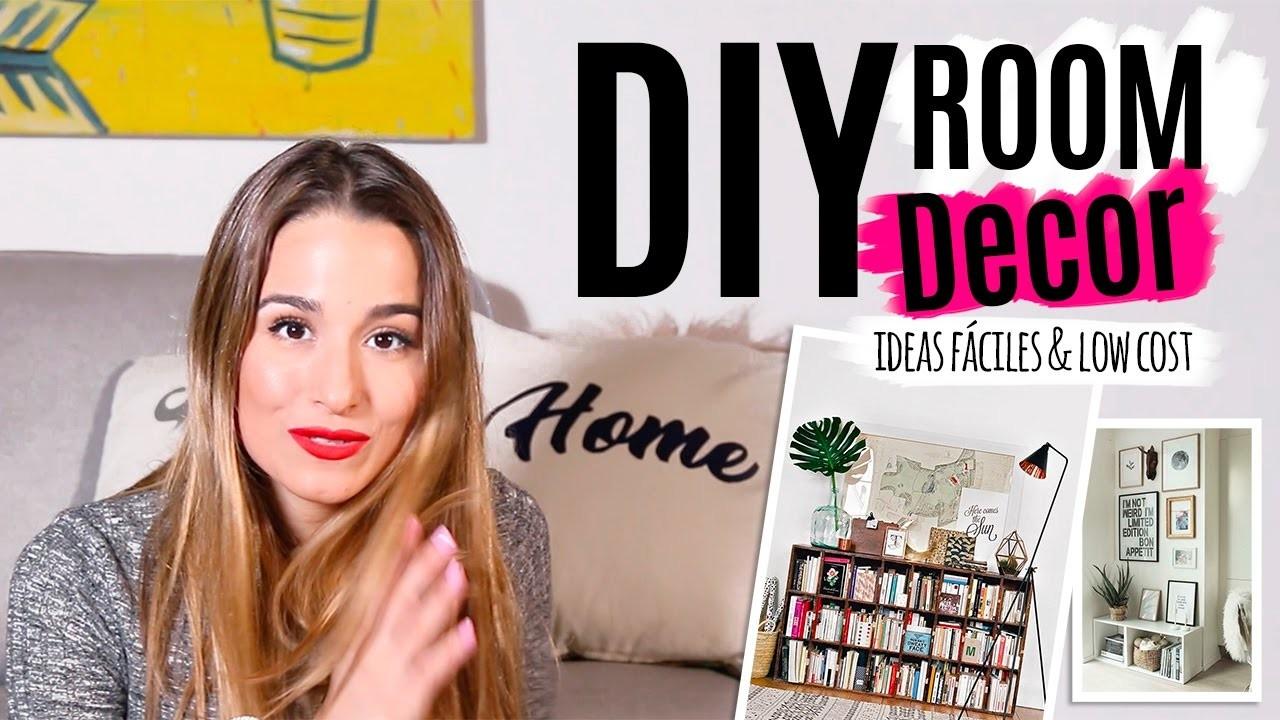 3 ideas fáciles para decorar | DIY Tumblr ROOM DECOR