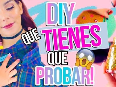 7 DIY FÁCILES QUE TIENES QUE PROBAR SI ESTÁS ABURRIDA ♥ Jimena Aguilar