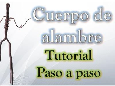 ✅ Como hacer una Estructura de Alambre para tus figuras de Plastilina ✅ TUTORIAL