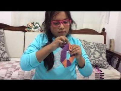 Estrella mágica ninja con cat -Origami para niños #1