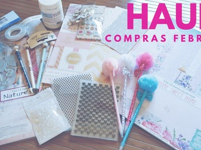 HAUL SCRAPBOOK. COMPRAS FEBRERO 2017