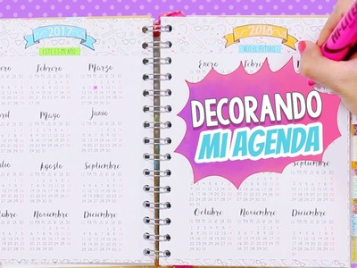 Mi agenda decorada: Crafty Planner + Mi historia (Parte 1: Inspiración) ✄ Craftingeek