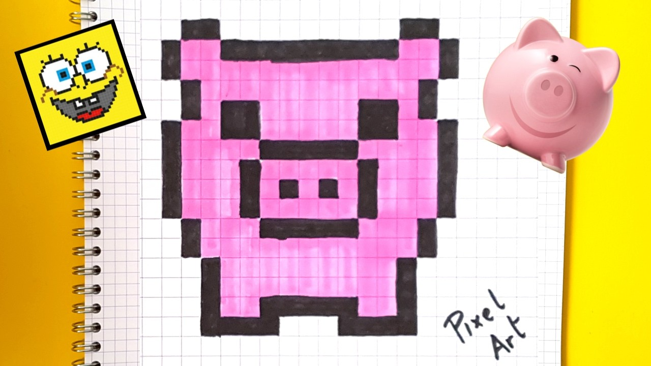 Art Pixel Art Facile Kawaii Caca