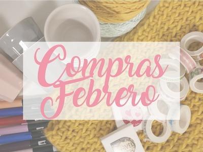 Scrapbooking Compras Febrero. Haul Febrero. Compras en Aliexpress, Carlin, Gato Negro, Hema.