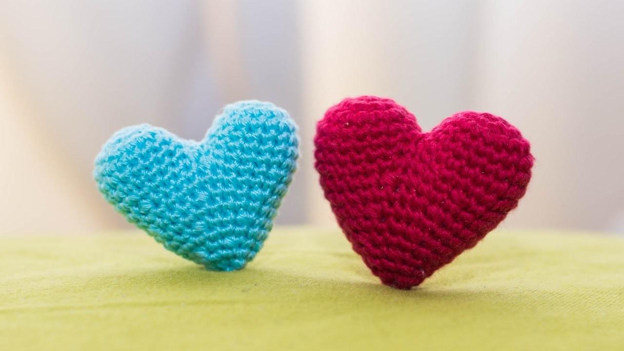 Amigurumi Corazon : Amigurumi, como hacer un corazon en crochet, Bibiana Mejia ...