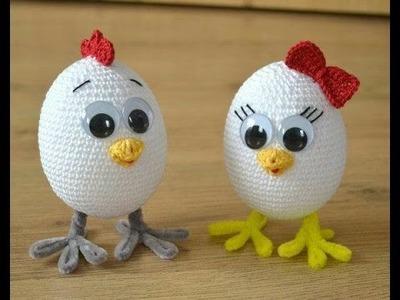 Amigurumi Huevos de Pascua tejidos a crochet Parte 2 de 2