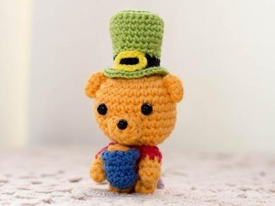 Amigurumi | Sobrero St Patrick's Day en Crochet  | Bibiana Mejia Crochet 2017