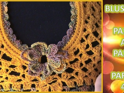 BLUSON 2XL en crochet PASO A PASO (4 de 4)