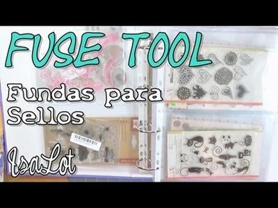 Cómo hacer fundas para archivar sellos, con la fuse tool | DIY