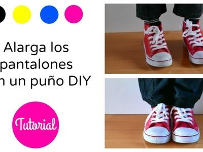 DIY : Alargar pantalones con puño