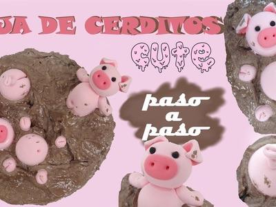 DIY- Caja de cerditos - PASO A PASO