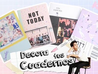 DIY K-POP : Decora tus cuadernos SEVENTEEN. GOT7. BTS. EXO