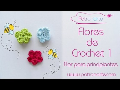 Flores de Crochet 1: Flor para principiantes