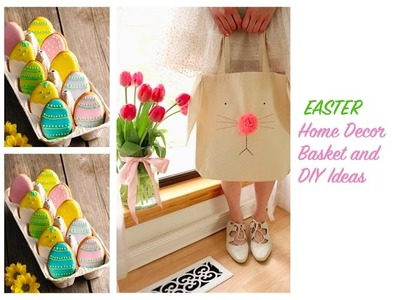 IDEAS Y DECORACION PARA PASCUAS ????EASTER BASKET & CRAFT IDEAS