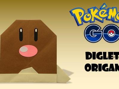 POKEMON - Origami DIGLETT Tutorial DIY pokemon origami diglett How to make pokemon origami easy